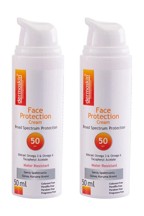 Dermoskin Güneş Koruyucu  Protection SPF 50 -2'li Avantaj Paket 8697796001315 1