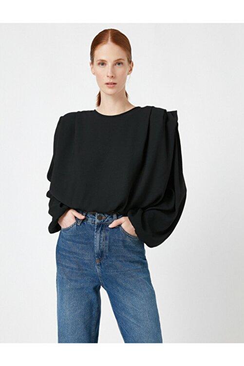 Koton Kadın Siyah Bluz 1KAK68167PW 2