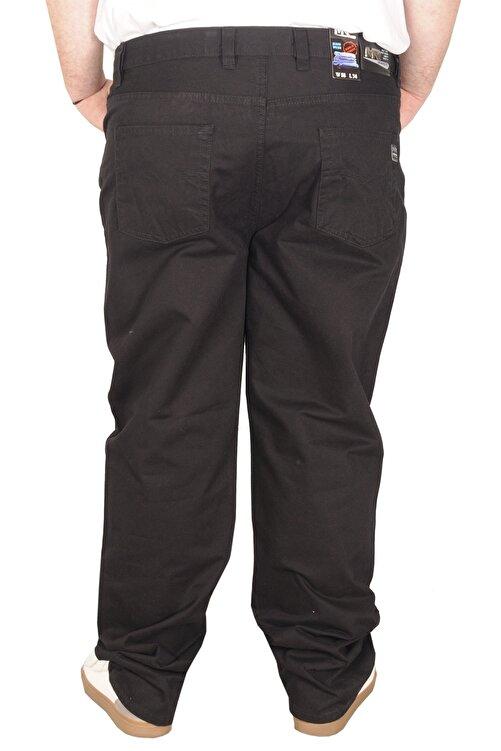ModeXL Büyük Beden Erkek Gabardin Pantolon 21001 Siyah 2