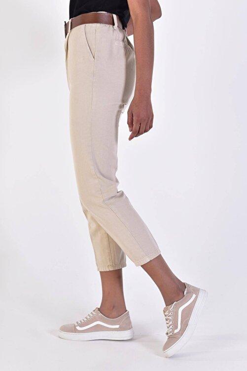 Addax Kadın Taş Kemerli Pantolon Pn4204 - B6A6Z2 Adx-0000020952 2