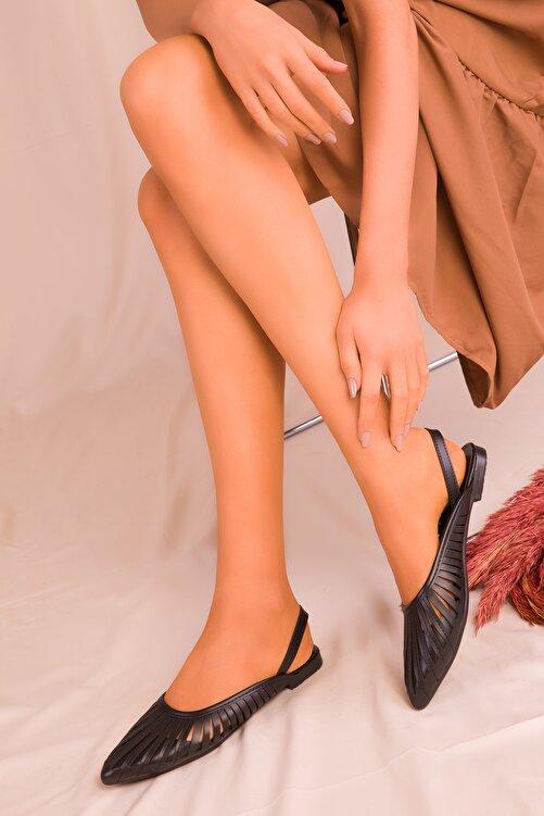 SOHO Siyah Kadın Sandalet 15027 1