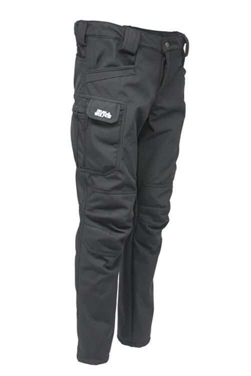 GRAY WOLF Softshell Polarlı Taktikal Pantolon (siyah) 1