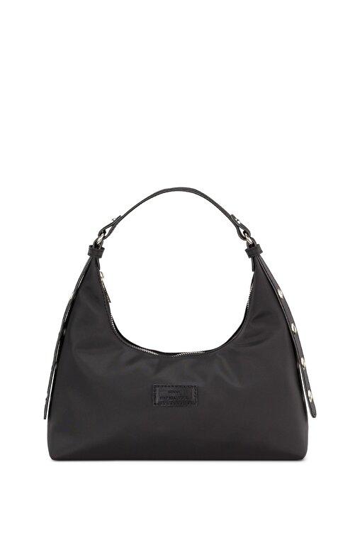 Housebags Kadın Siyah Baguette Çanta 205 1