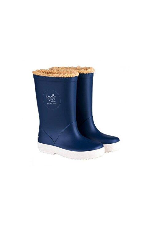 IGOR SPLASH NAUTICO BORREGUITO Mavi Erkek Çocuk Yağmur Çizmesi 100518773 2