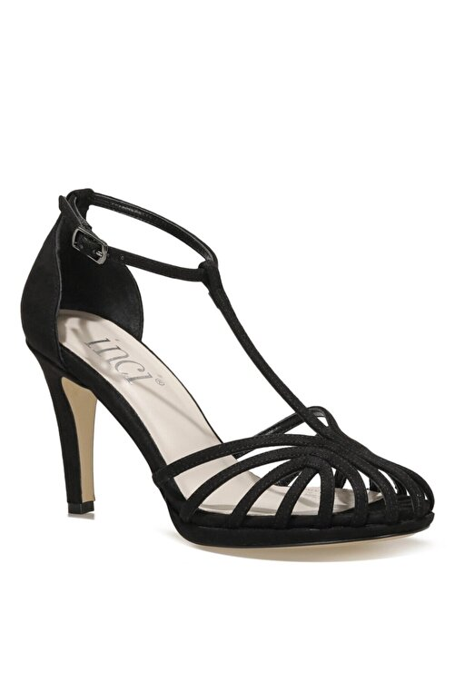İnci DIANA.SZ 1FX Siyah Kadın Topuklu Sandalet 101038270 2