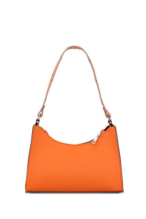 Housebags Kadın Turuncu Baguette Çanta 195 2