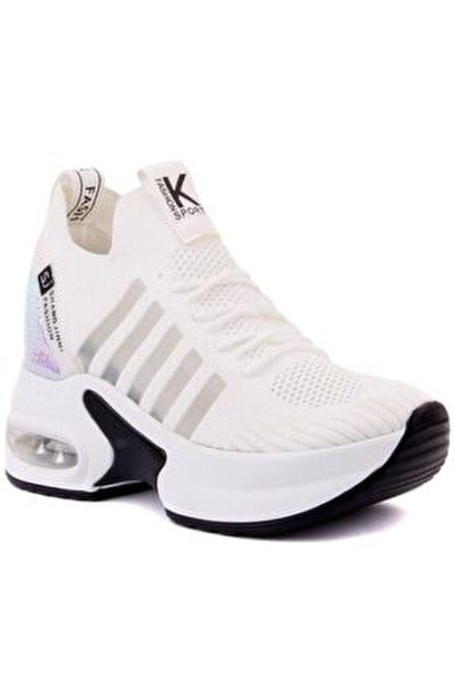 Guja Kadın Beyaz Spor Ayakkabısı 2
