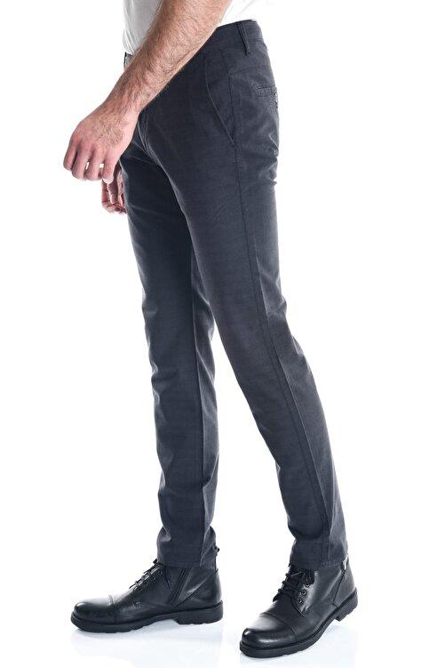 LTC Jeans Antrasit Ekose Slimfit Erkek Chino Pantolon - 10389 2
