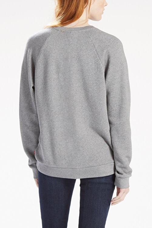 Levi's Relaxed Graphic Crew Neck Kadın Açık Gri Sweatshirt 2