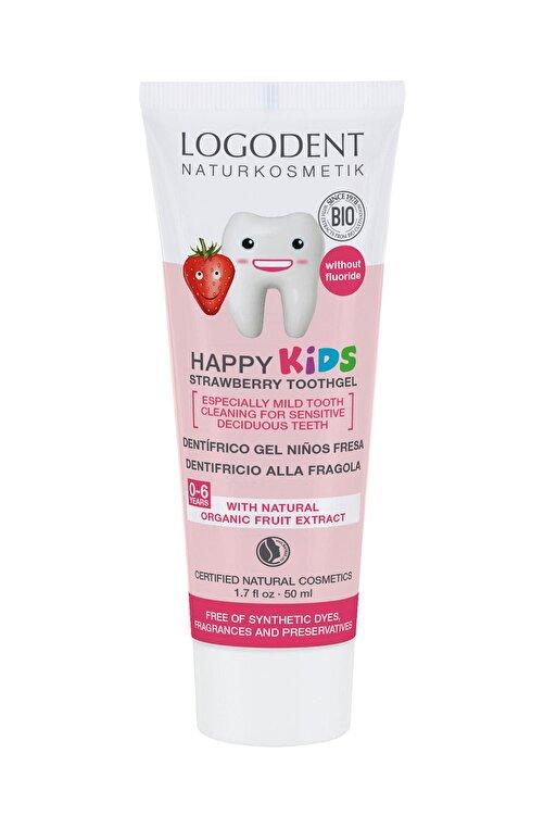 Logona 0-6 Yaş Çocuklar İçin Çilek Özlü Organik Diş Macunu - 50 ml 1