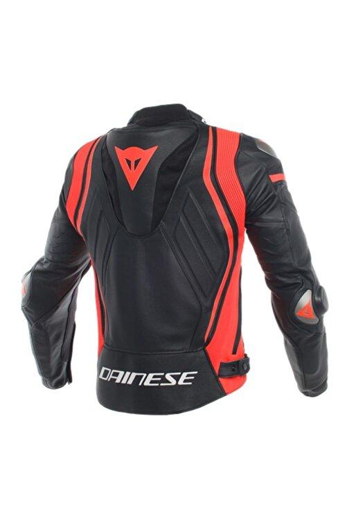 Dainese Unisex Siyah Mugello Deri Motosiklet Montu 2