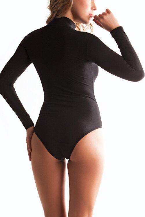 Miorre Uzunkol Yarım Boğaz Çıtçıtlı Body 2