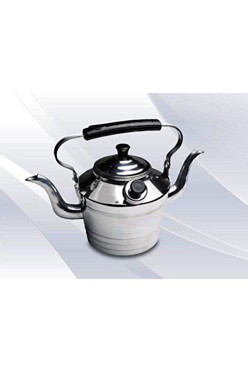 EARABUL Alüminyum Kamp Çaydanlığı - Süzgeçli Demlik - 2 Si 1 Arada Çift Taraflı Çaydanlık Seti 2