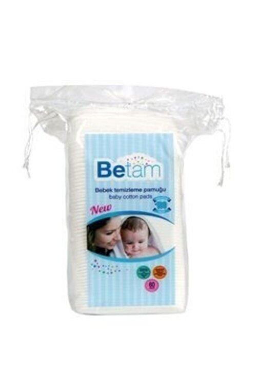 Betam Bebek Temizleme Pamuğu 60 Adet 1