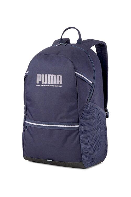 Puma PLUS BACKPACK PEACOA Lacivert Erkek Sırt Çantası 101085609 1