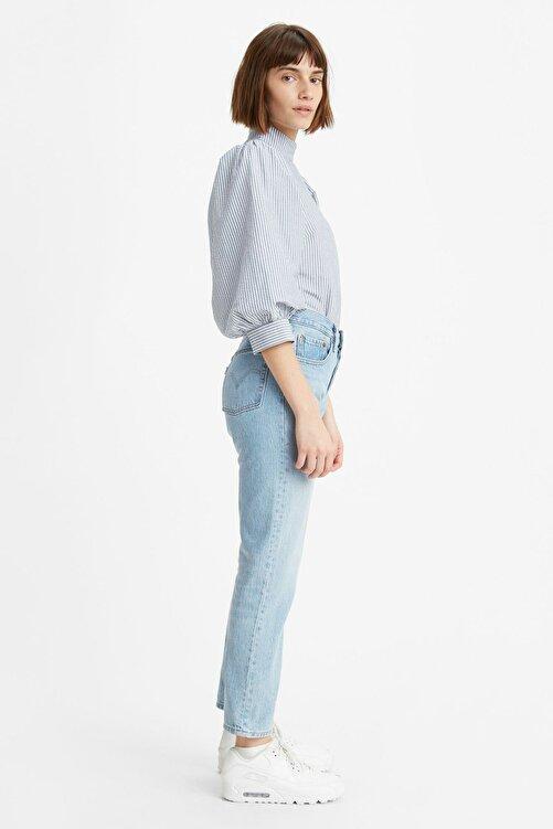 Levi's Kadın Mavi Yüksek Bel Pamuk Jeans  36200 501 2