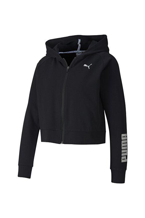 Puma Kadın Siyah Rtg Pamuklu Fermuarlı Sweatshirt 58147901 1
