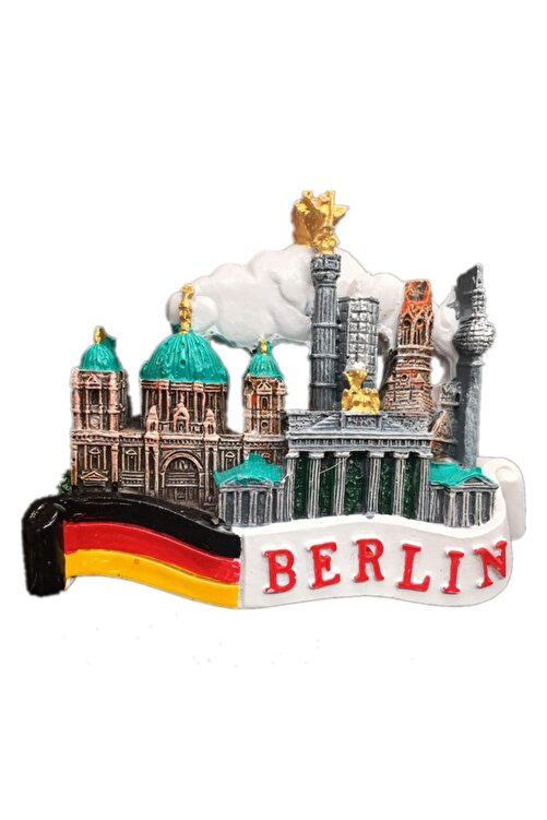 Vera Buzdolabı Magneti Avrupa Şehirleri Berlin 1