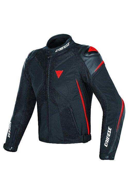 Dainese Super Rider D-dry Korumalı Motosiklet Montu Black-black-red Fluo 2