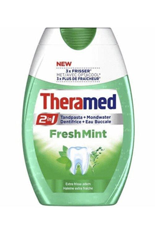 Theramed 2in1 Fresh Mint Diş Macunu Tandpasta 75 ml 1