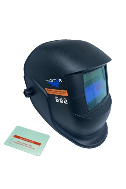 Mager Maxstar Pro By350f Colormatik - Potanslı Kolormatik Kaynak Maskesi - Yedek Camlı 1