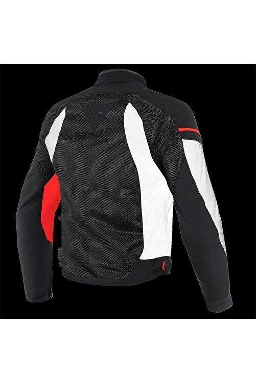 Dainese Kadın Sıyah Daınese Air Frame D1 Tex Jacket Black Whıte Red 2