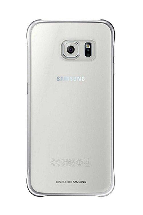 CaseLogic Samsung Galaxy S6 Clear Cover Orjinal - Gümüş Ef-qg920bsegww 1