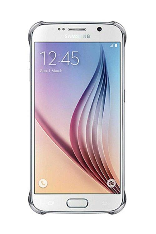 CaseLogic Samsung Galaxy S6 Clear Cover Orjinal - Gümüş Ef-qg920bsegww 2