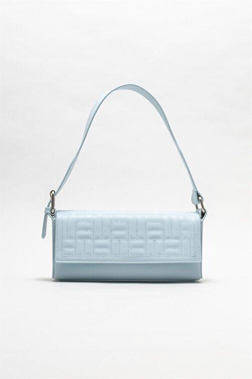 Elle Shoes Kadın Mavi Omuz Çantası 1