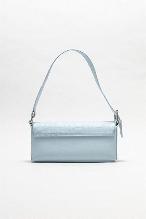 Elle Shoes Kadın Mavi Omuz Çantası 2