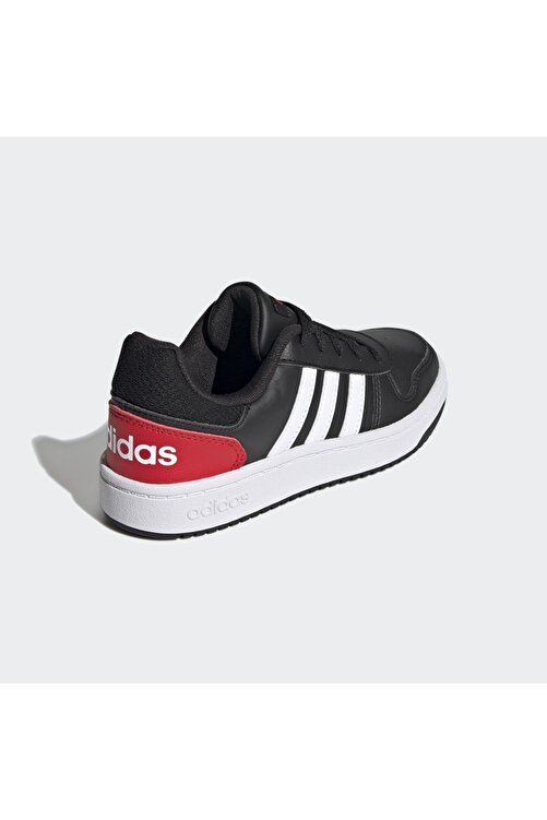 adidas Unisex Çocuk Siyah Basketbol Ayakkabısı Hoops 2.0 K 2