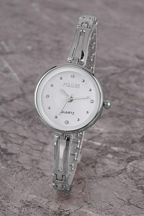 Polo55 Plkm008r03 Kadın Saat Taş Detaylı Kadran Şık Metal Kordon 1