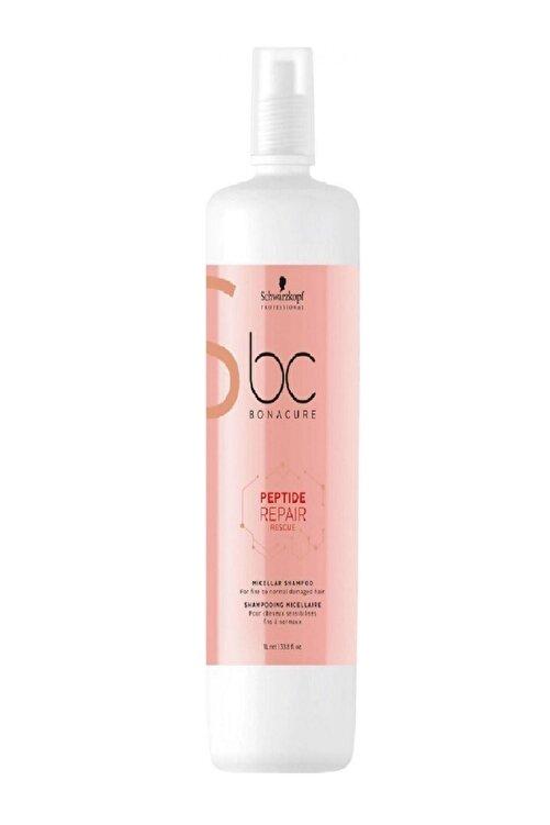 Bonacure Schwarzkopf Bc Bonacure Peptide Repair Rescue 1000 ml Şampuan 1