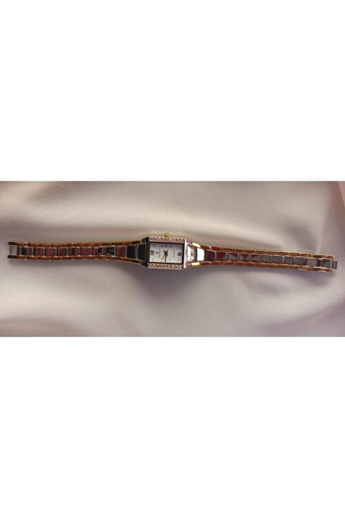 Revello Kadın Gümüş Renk Ince Model Vintage Kol Saati Ret-7135l 2