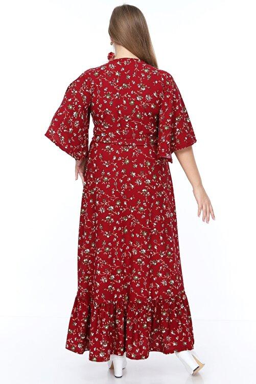 MACFLY Kruvaze Yaka Elbise 2