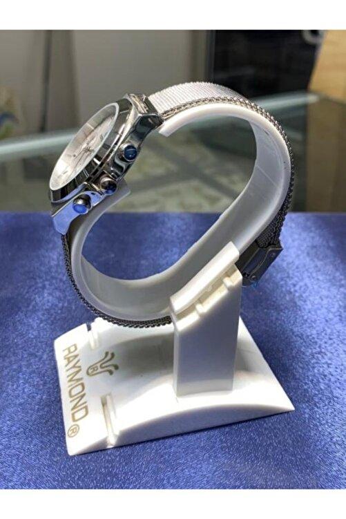 Revello Çok Foksiyonlu Çelik Hasır Erkek Kadın Kol Saati Res-170066 2