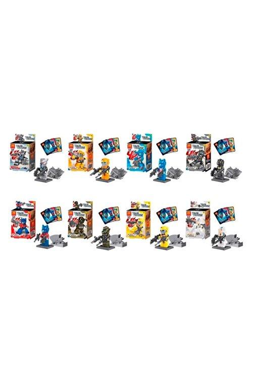 e-life Es78044 Lego Seti Transformers Serisi Optimus Prime Bumblebee & Arkadaşları 8 Set Birden 1