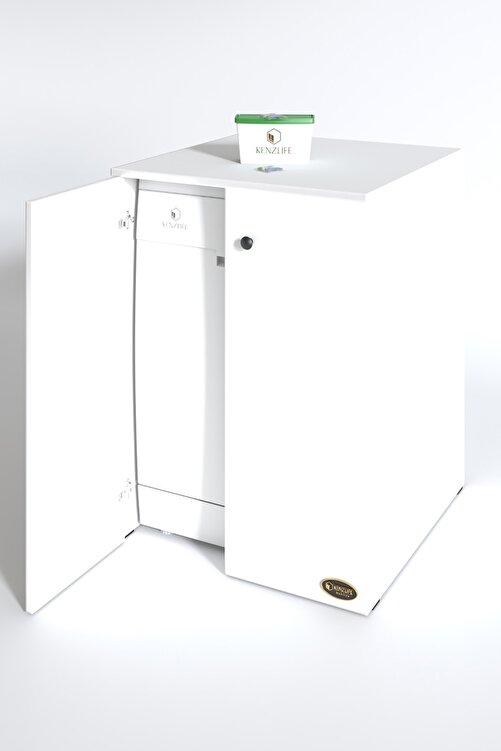 Kenzlife Bulaşık Makinesi Dolabı Kapaklı Nurten Byz 90*70*60 Banyo Ofis 2