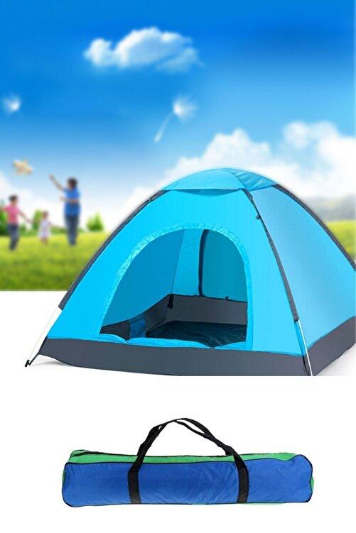 Onetick 6 Kişilik Renkli Dayanıklı Kamp Çadırı 220x250x150 1