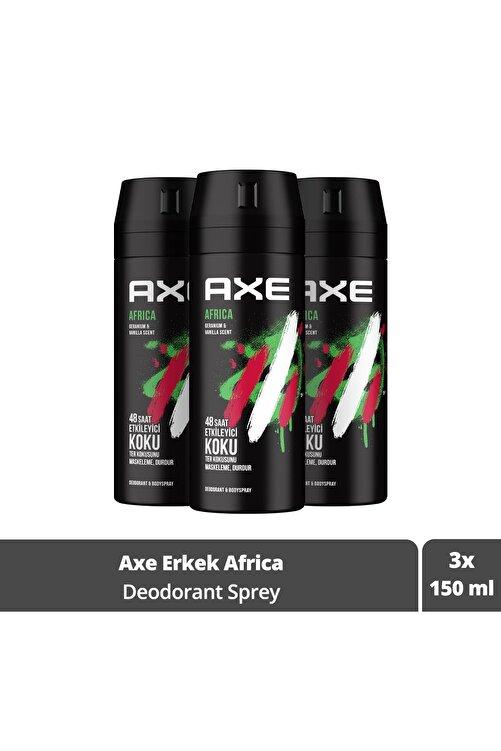 Axe Africa Erkek Deodorant Sprey 150 ml X3 1