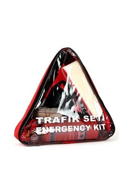 OEM Trafik Ve Ilk Yardım Seti (yangın Söndürme Tüplü) Boyunluklu Üçgen 1