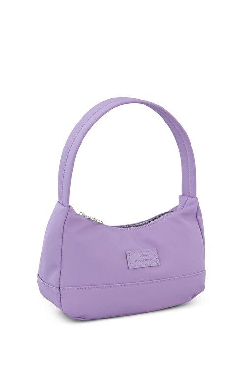 Housebags Kadın Lila Baguette Çanta 197 2