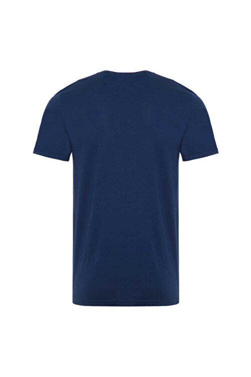 New Balance Erkek Lacivert T-Shirt Mpt1116-avı- 2