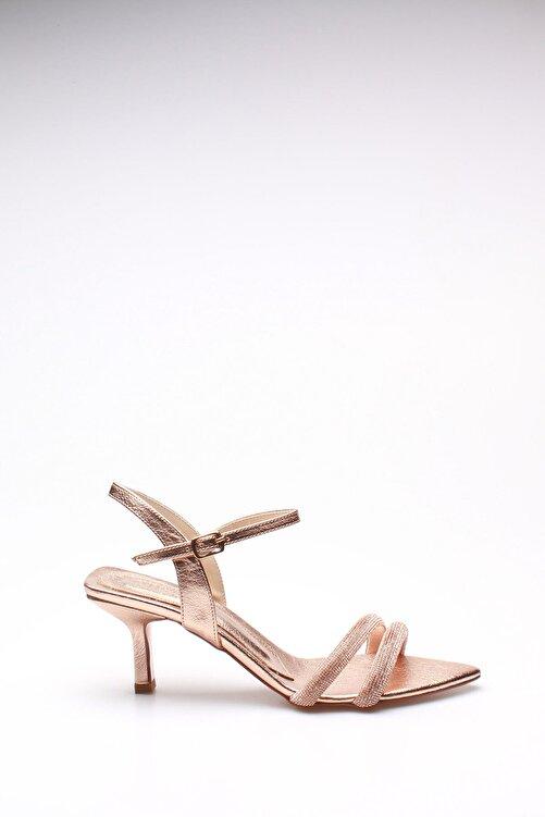 ROVIGO Kadın Rose Rugan Topuklu Ayakkabı 2