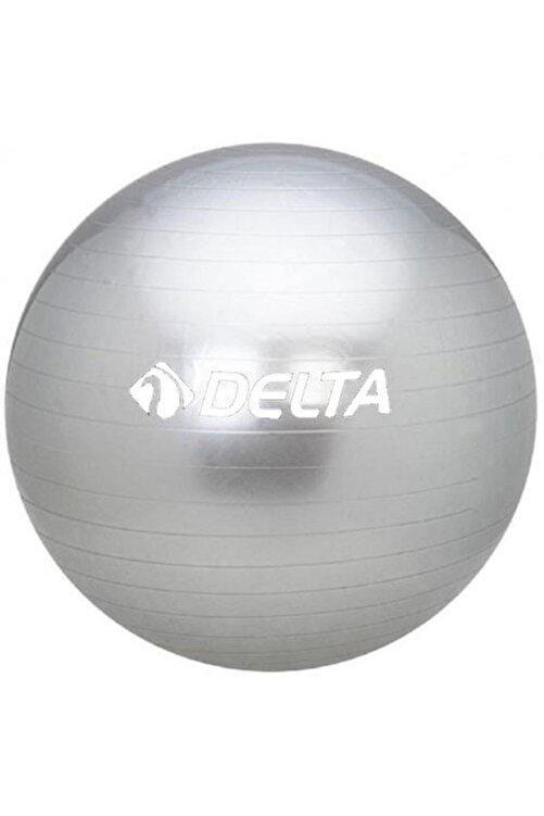 Delta 55 Cm Dura-strong Deluxe Silver Pilates Topu 1