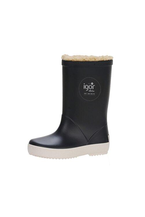 IGOR SPLASH NAUTICO BORREGUITO Lacivert Erkek Çocuk Yağmur Çizmesi 100518767 2