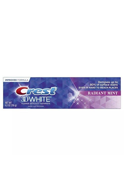 CREST 3d White 3 In 1 Whitening Radiant Mint Toothpaste- Diş Macunu 116 G 1