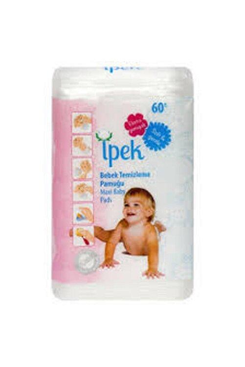 İpekçe Ipek Bebek Temizleme Pamuğu 60 Adet X 6 Pk. 2