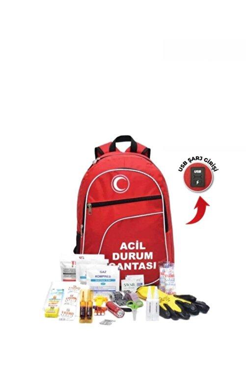 hilal Deprem Çantası -acil Durum Ve Afet Ilk Yardım Seti / Çantası 1