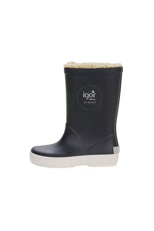 IGOR SPLASH NAUTICO BORREGUITO Lacivert Erkek Çocuk Yağmur Çizmesi 100518767 1